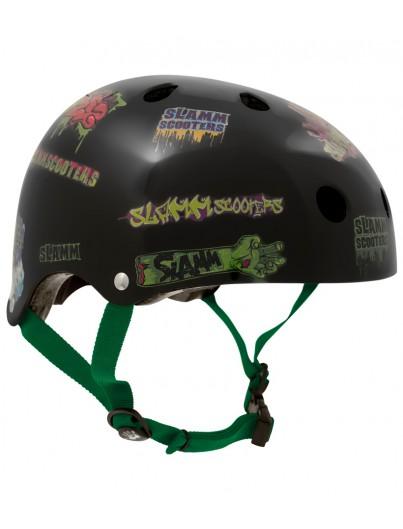 Slamm Scooter Sticker stunthelm