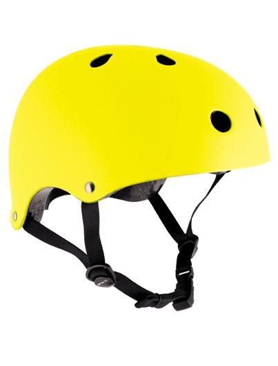 Skatehelm geel Essentials