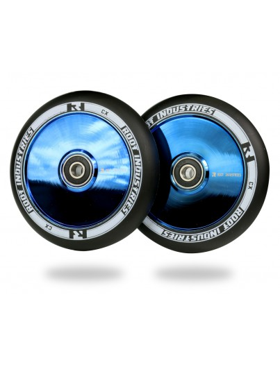 Root Industries Air 110mm Stuntstep Wielen Black / Blu Ray