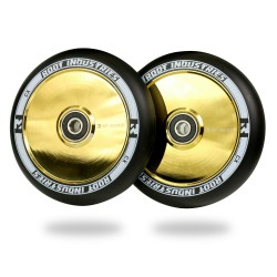 Root Industries Air 110mm Stuntstep Wielen Black / Gold Rush